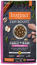 Nature's Variety Instinct Raw Boost Grain Free Recipe Natural Dry Dog Food