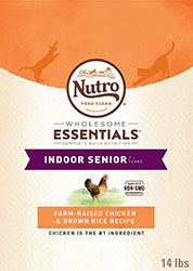 Nutro Senior Indoor Cat Dry Food