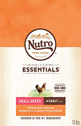 Nutro Wholesome Essentials Small Breed Adult Dog Food